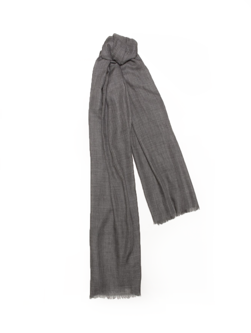Wispy Weight Scarf, Granite