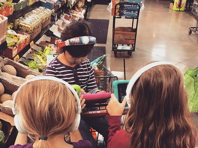 The Art of Grocery Shopping with Kids