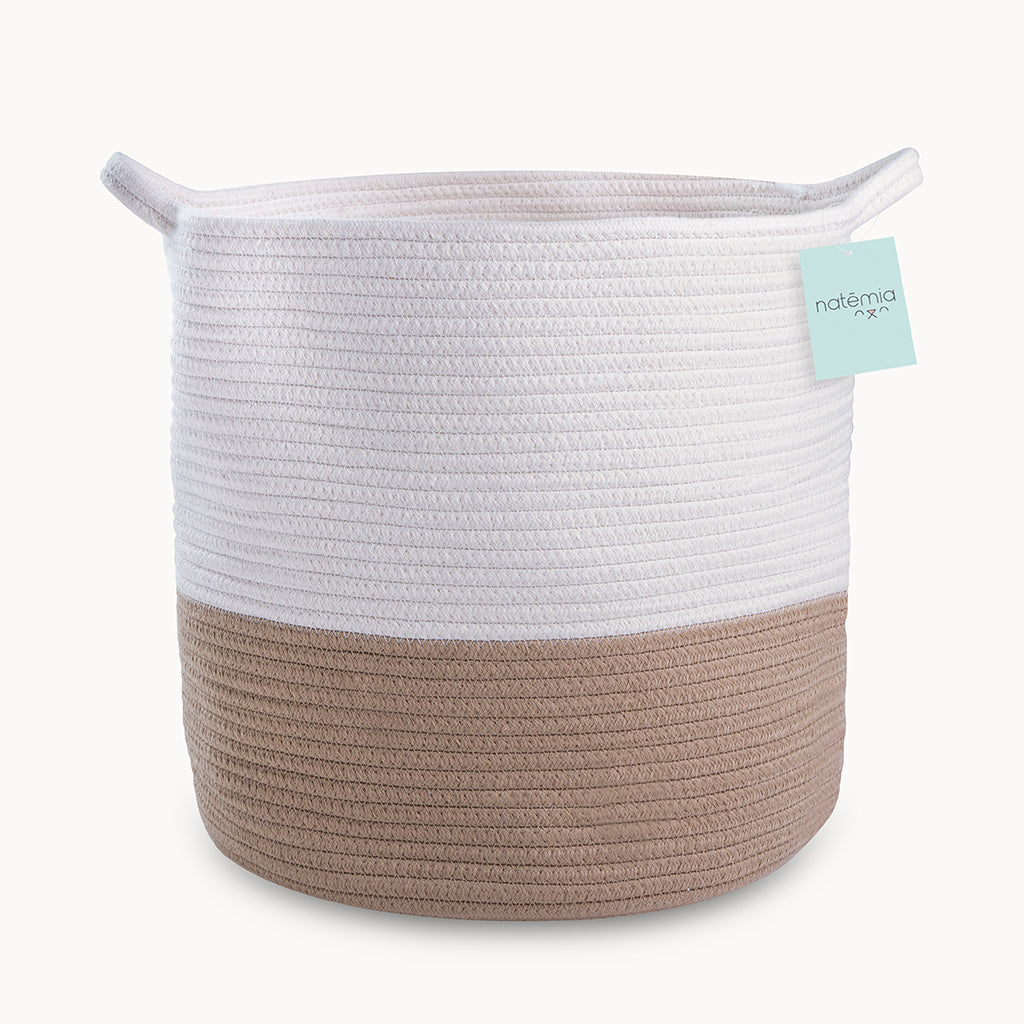 Cotton Rope Storage Basket - Natemia