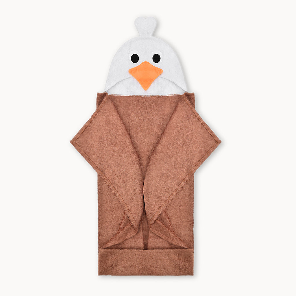 Baby Eagle Bamboo Hooded Towel