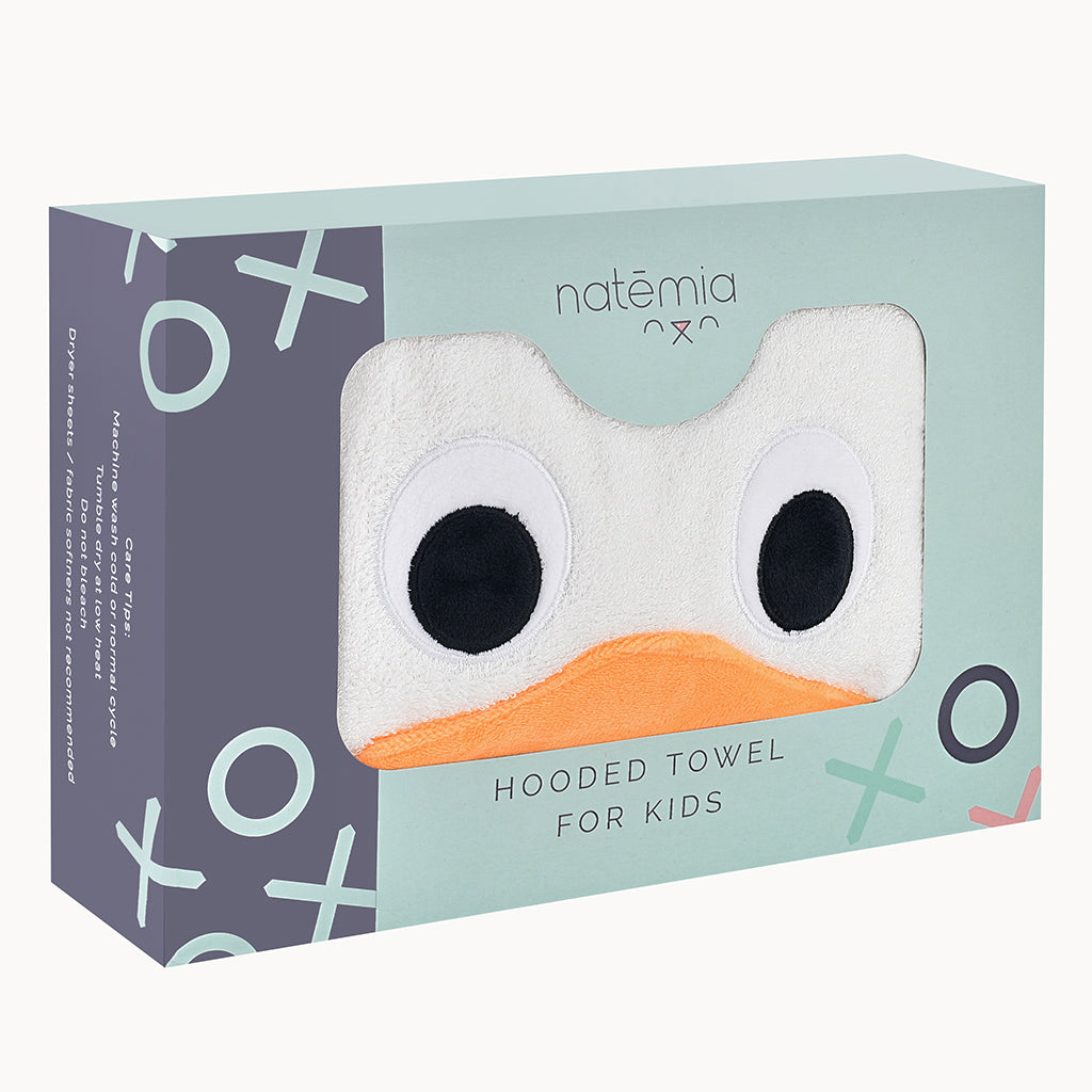 Baby Eagle Bamboo Hooded Towel - Natemia