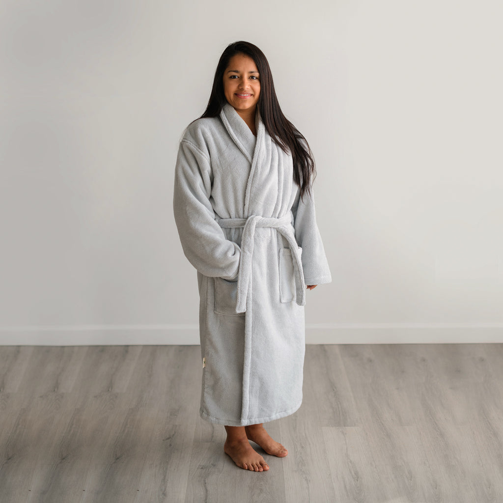 Organic Cotton Bathrobes for Men and Women - Natemia