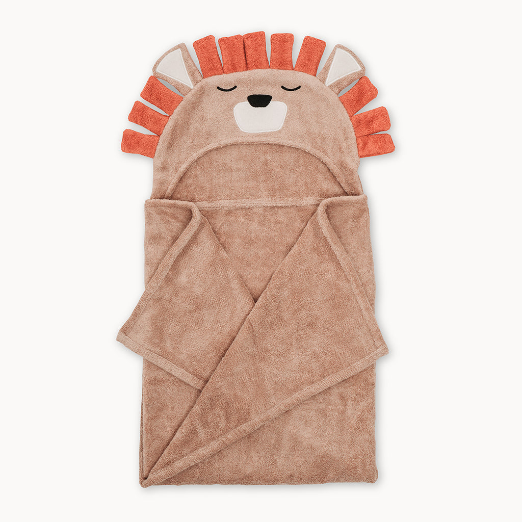 Lion Bamboo Hooded Towel for Kids - Natemia