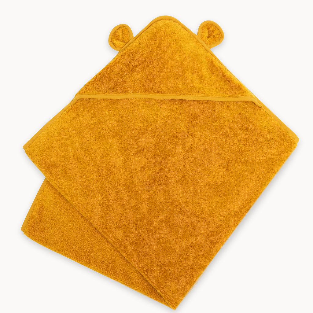 Organic Cotton Hooded Towel For Babies and Toddlers - Natemia