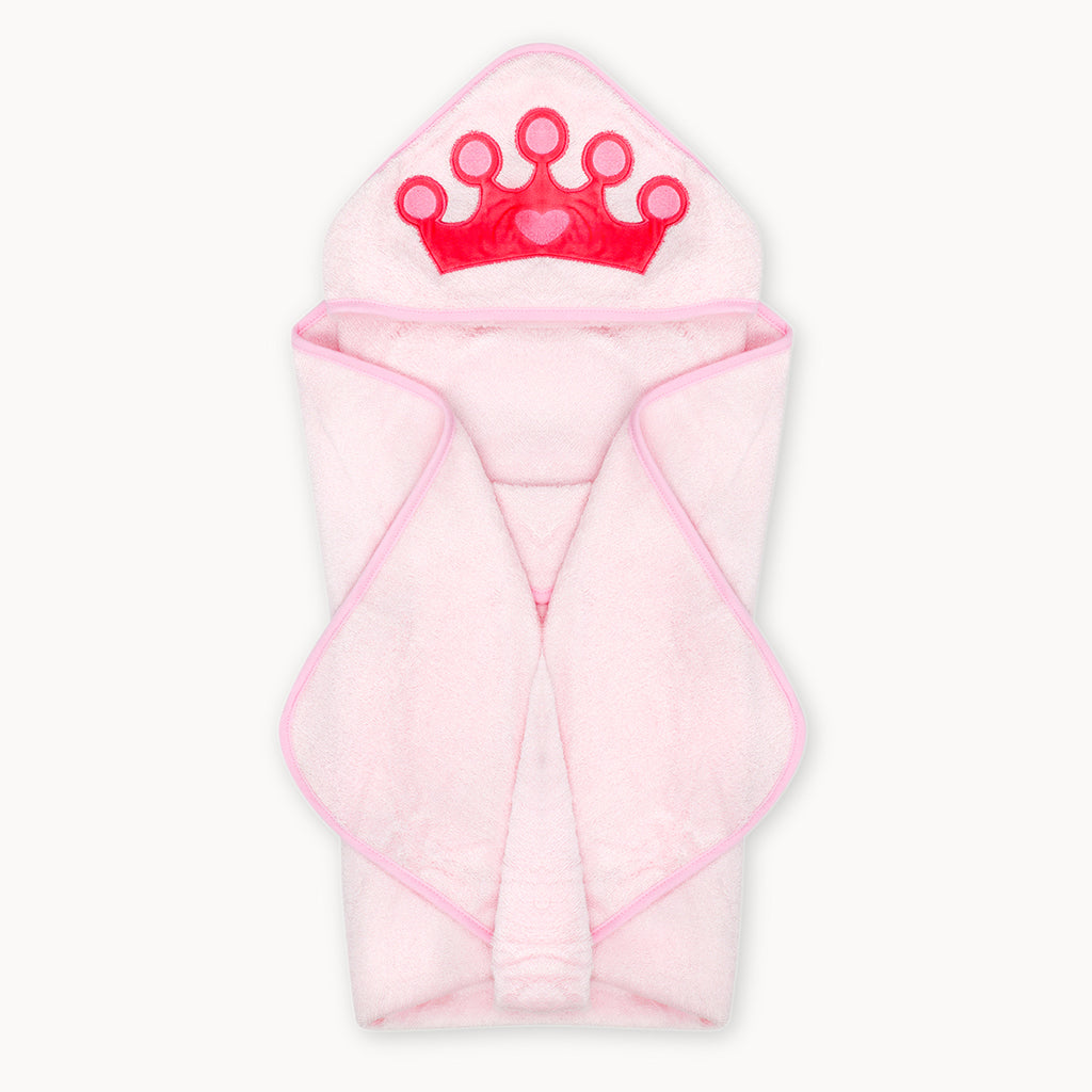 Princess Bamboo Hooded Towel