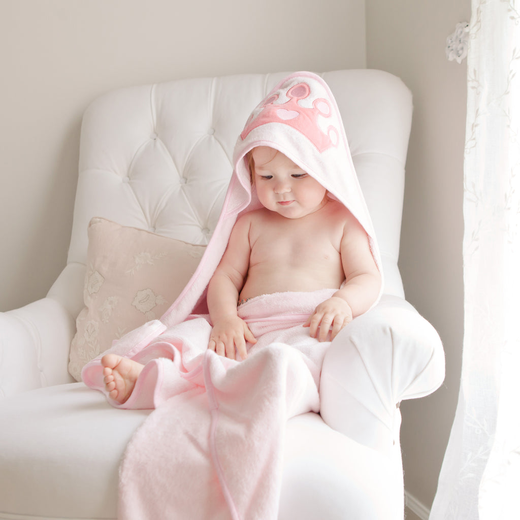 Princess Bamboo Hooded Towel - Natemia