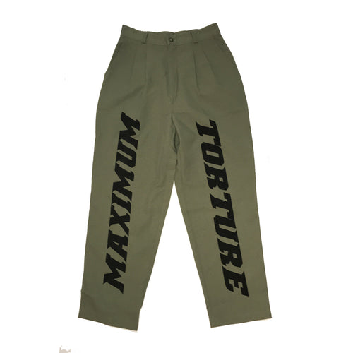 MAXIMUM TORTURE TROUSERS - SIZE 8