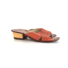 RETRO HANDMADE LEATHER SANDALS - SIZE 8 (WOMEN'S US)