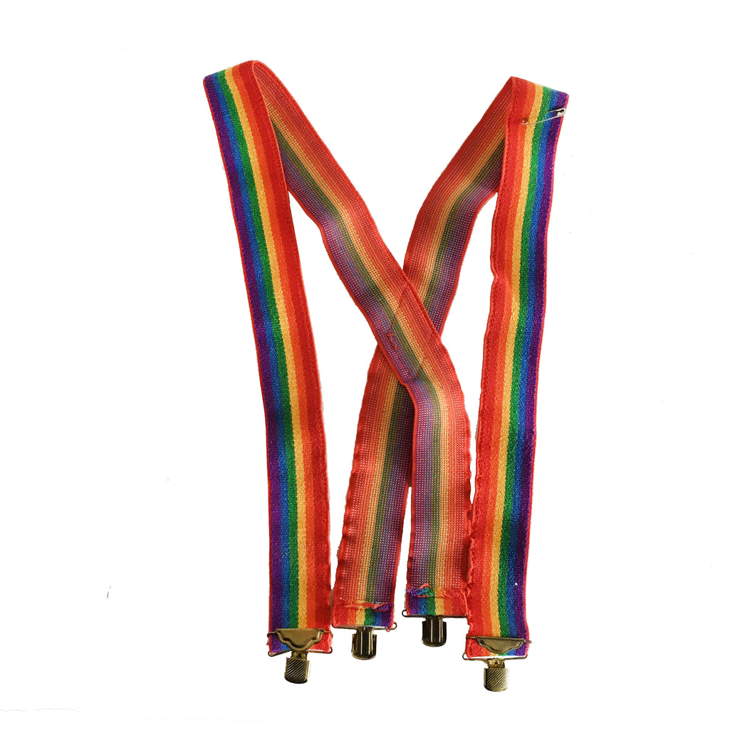 RAINBOW SUSPENDERS - O/S