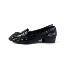 PLEATHER LOAFERS - SIZE 10 (WOMEN'S US)