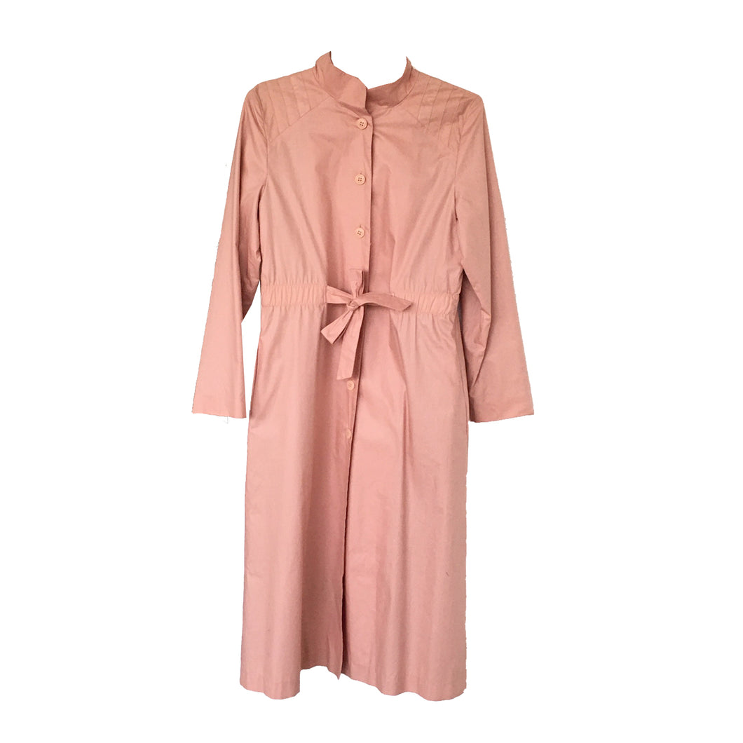POWDER PINK TRENCH - SIZE 7