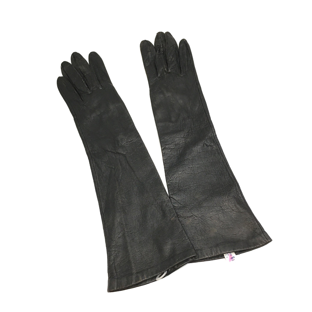 LEATHER GLOVES - 6 1/2