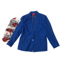 "1/1 ""I NEED YOU"" WOOL BLAZER - SMALL"