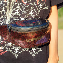 GLITTER CEDAR POINT FANNY PACK