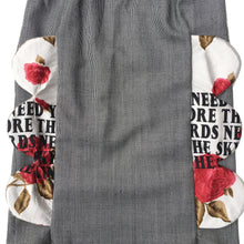 1/1 FLORAL CHEF SKIRT - SIZE 6