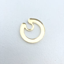 HOOP SEPTUM RING (CLIP-ON) - GOLD, SILVER, CLEAR & BLACK