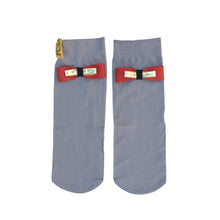 GREY CLAUDIA SOCKS - O/S