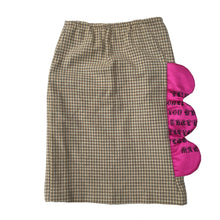 1/1 PLAID BARBIE SKIRT - SIZE 4