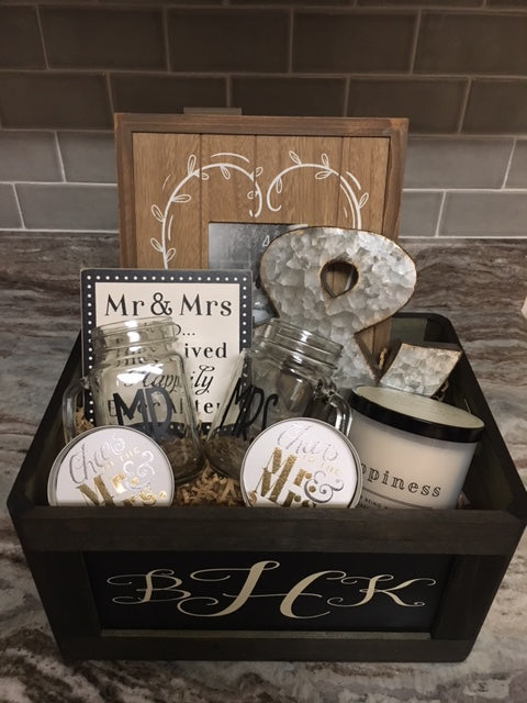 wedding and wedding shower gift baskets
