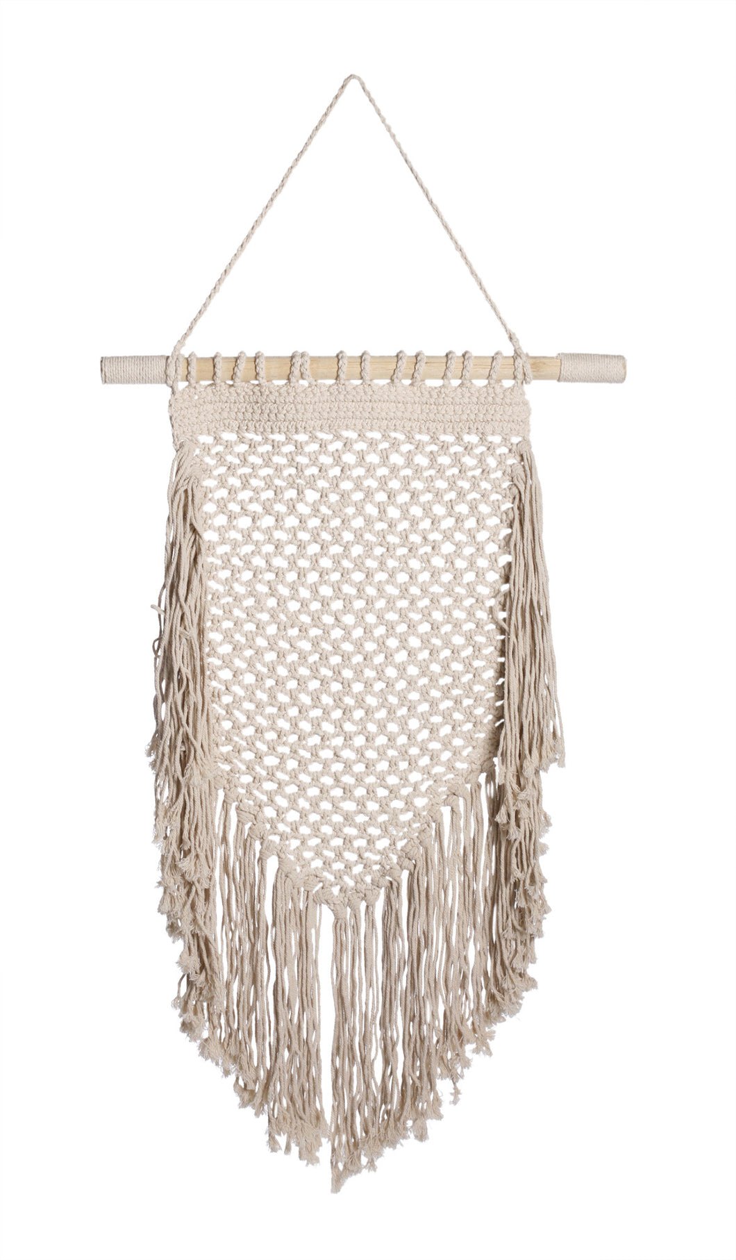 Medium Natural Macrame