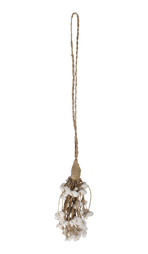 Ornamental shell tassel