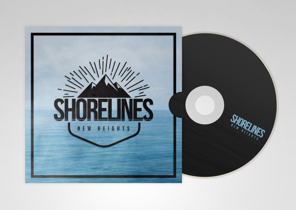 New Heights - Physical EP + Digital Download - ShorelinesAU