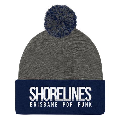 Shorelines Logo Pom Pom Beanie | 6  Colours