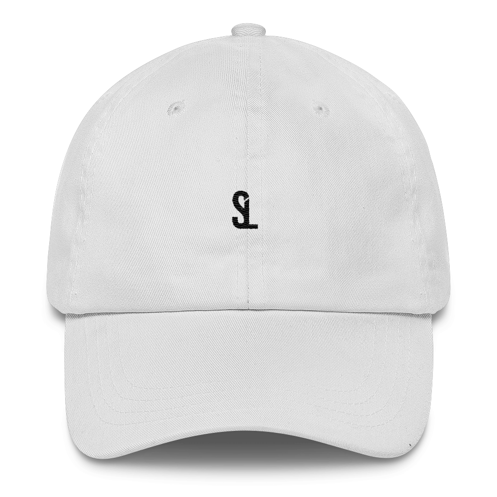 SL Dad Cap - White