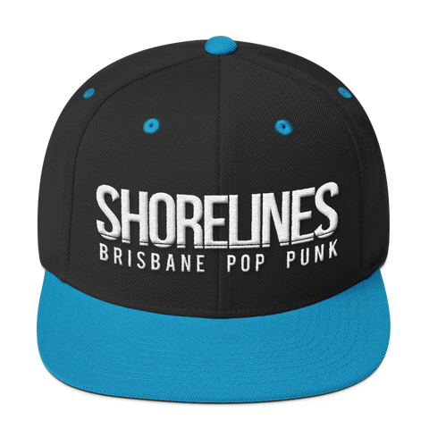 Brisbane Pop Punk Snapback | 4 Colours - ShorelinesAU