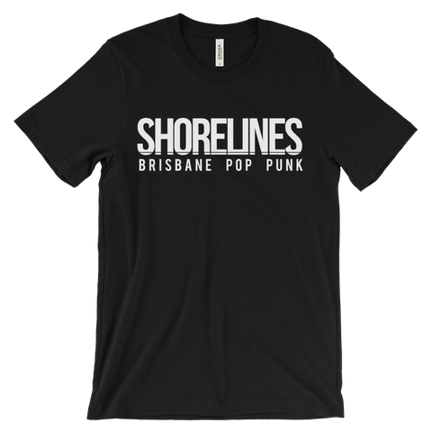 Shorelines Logo Tee Black | Navy