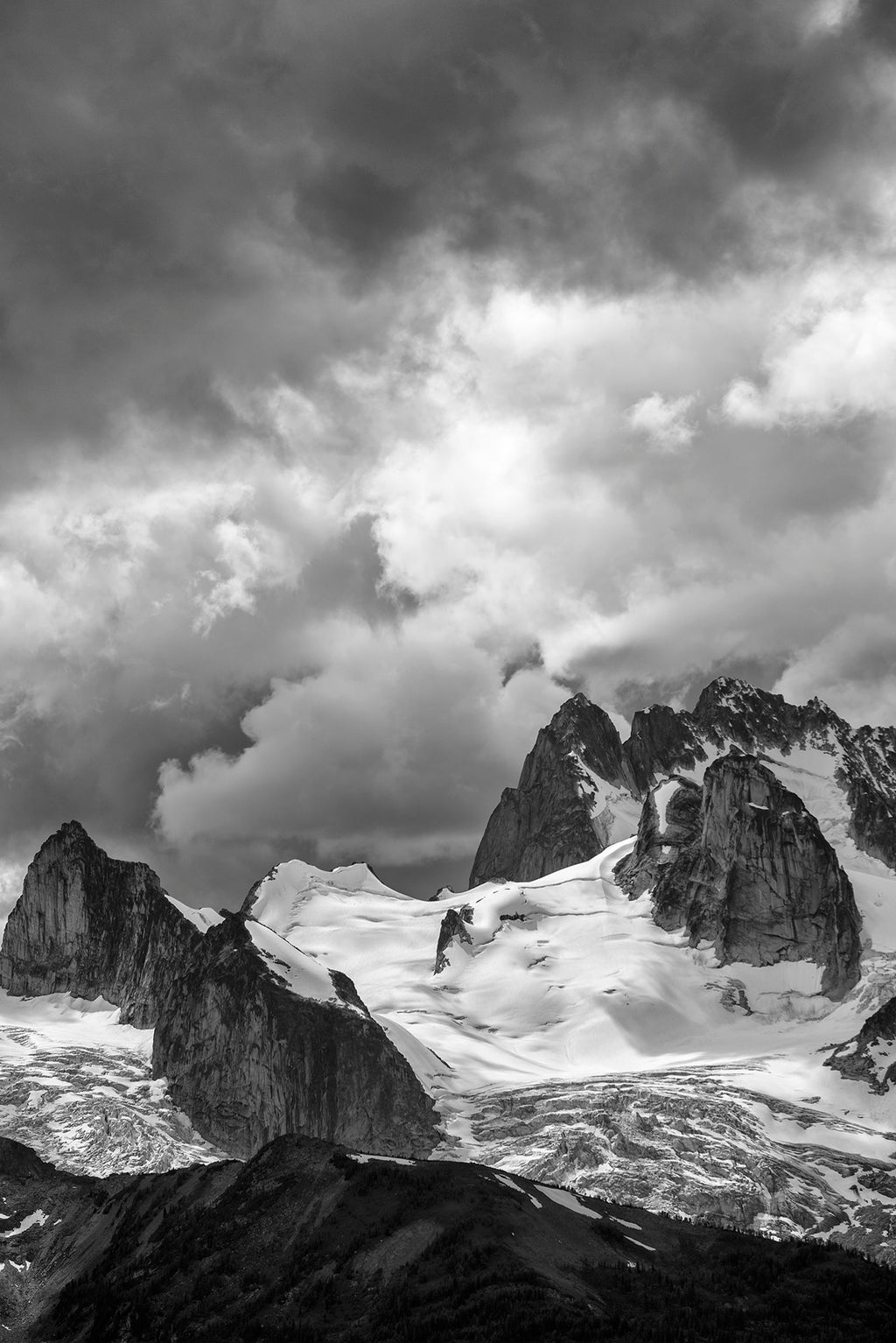 Bugaboo Storm Clouds 24x36 inch Canvas Print