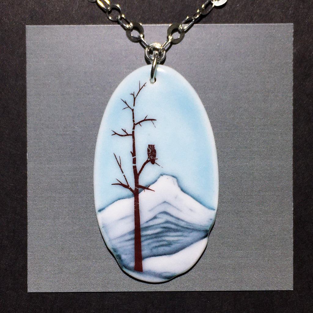 Porcelain Mount Nelson Necklace - [STN016]