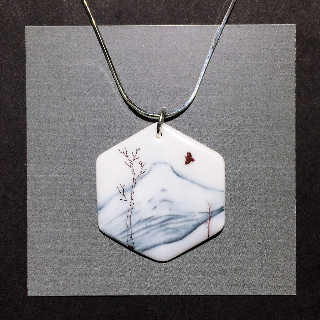 Porcelain Mount Nelson Necklace - [STN017]