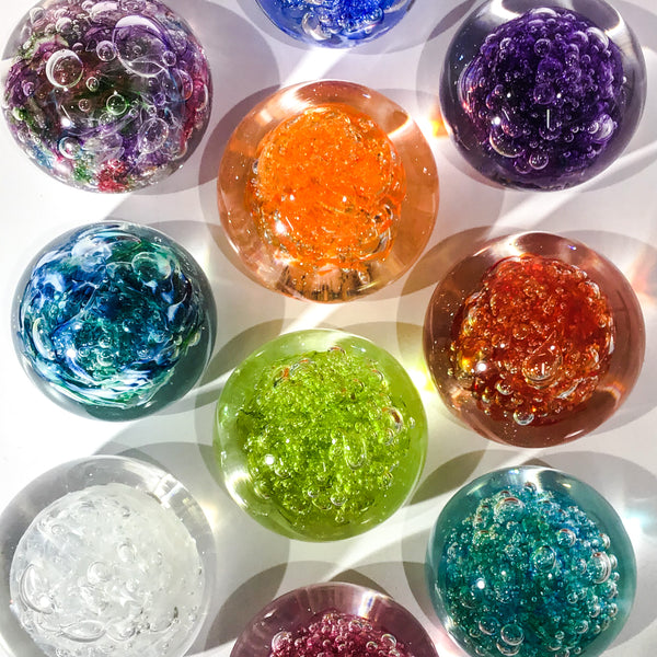 Bubbly Paperweights - Colourful