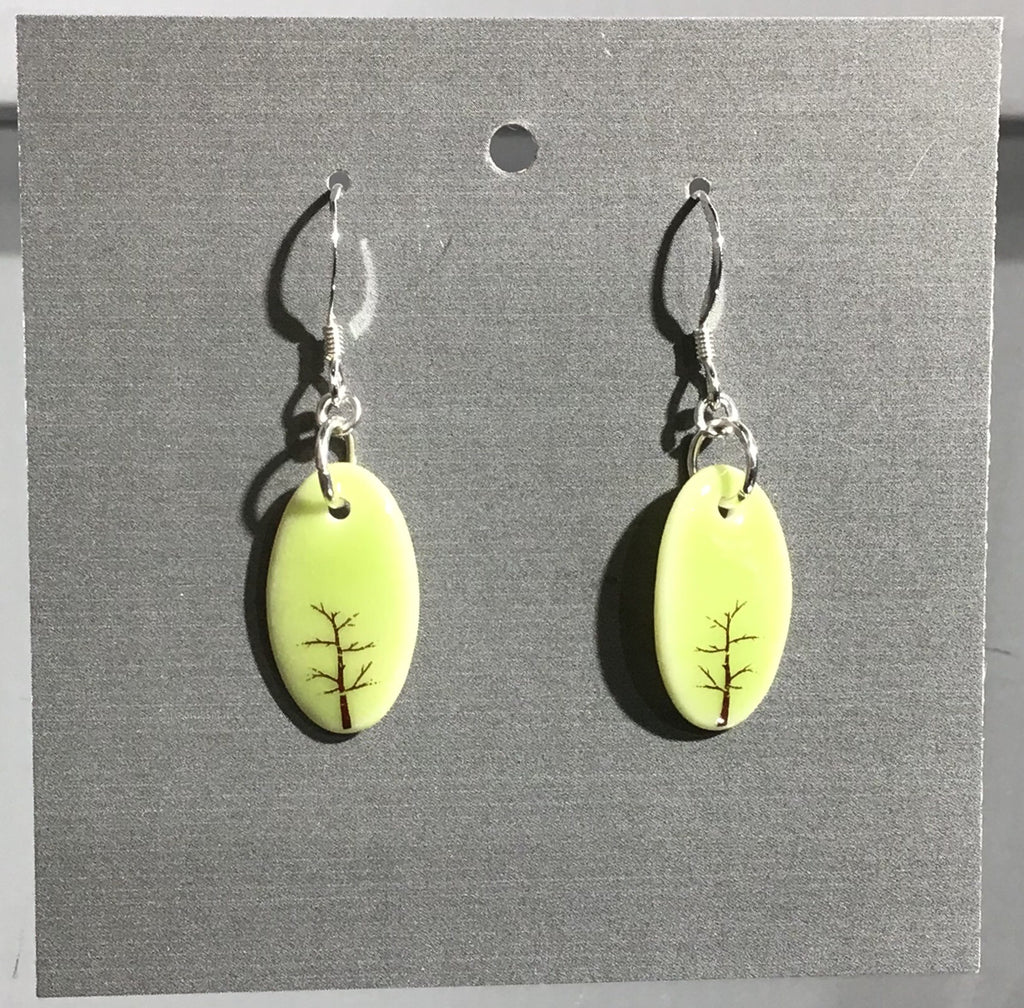Porcelain Tree Earrings - [ST005]
