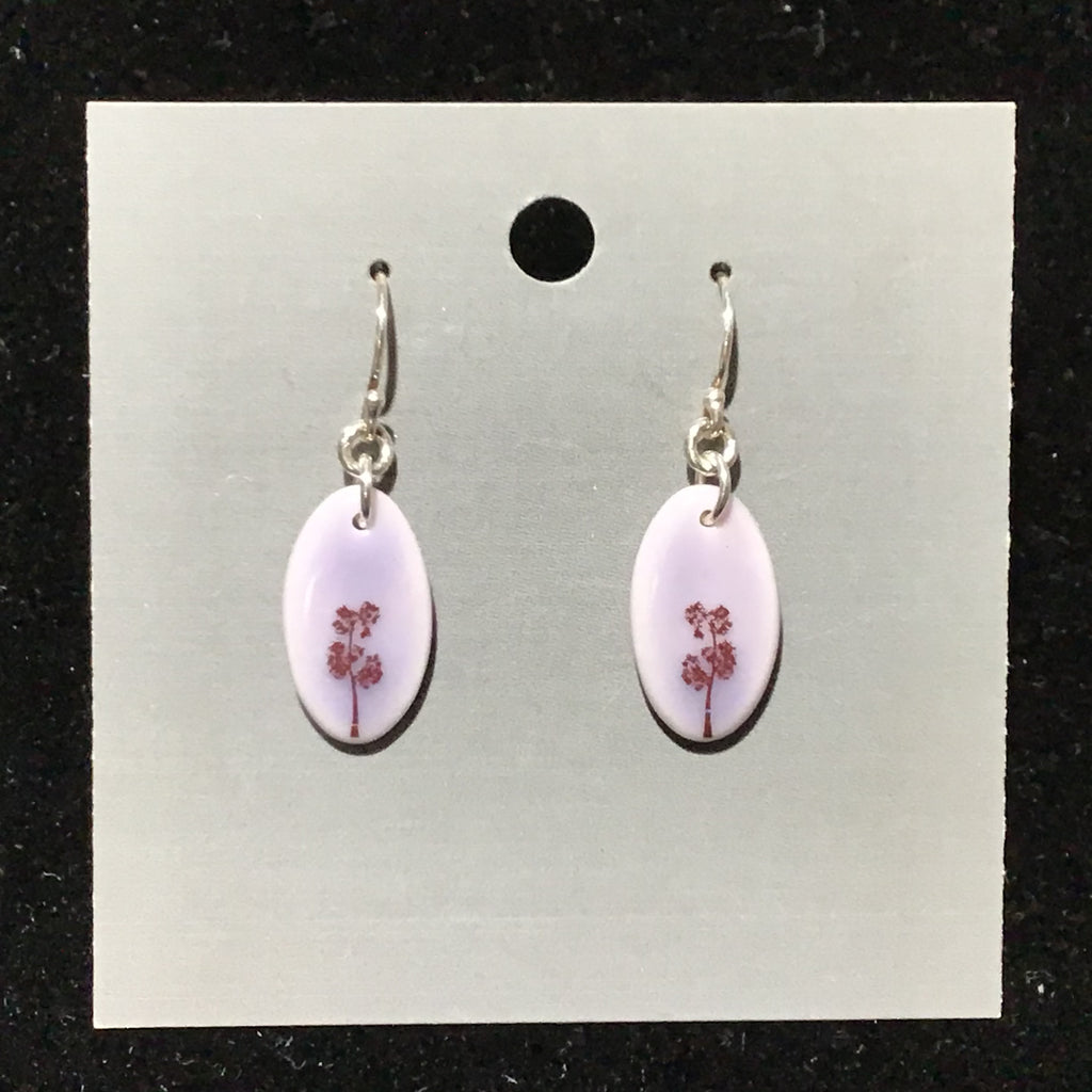 Porcelain Tree Earrings - [#ST7012]