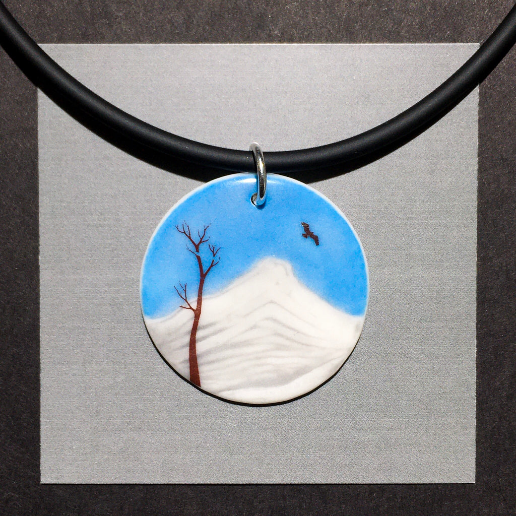 Porcelain Mount Nelson Necklace - [STN018]