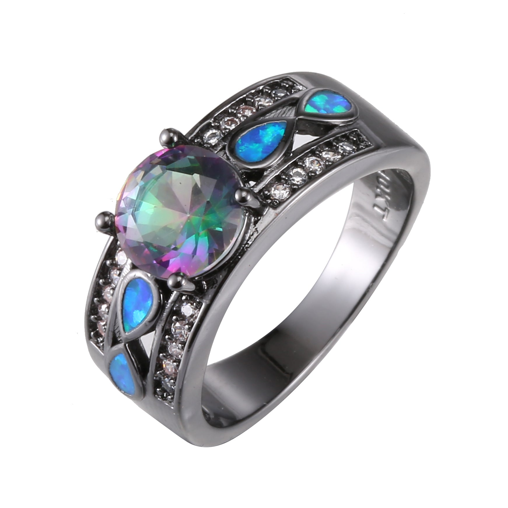 birthstone june zirconium brightly pattern rings wedding purple coloured bands celtic ring blog