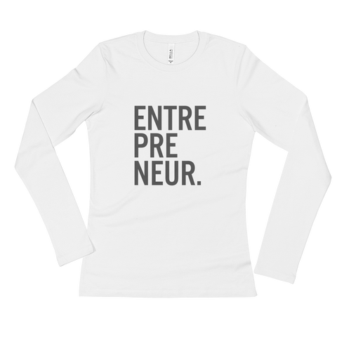 Ladies' Entrepreneur Longsleeve