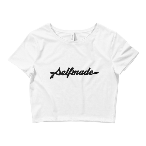 Ladies' Selfmade Signature Crop Top