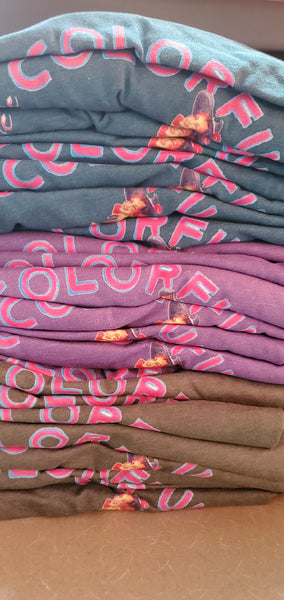 The Colorful Cowgirl Logo Tee