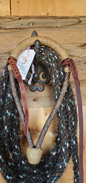 Rawhide and Leather Bosal