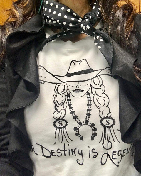 Her Destiny is Legendary Tee SALE