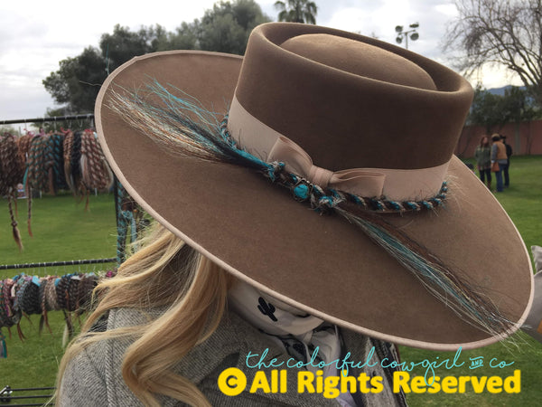 Custom Mecate Hatband Single