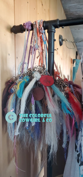 Colorful Cowgirl Horse Hair Tassels