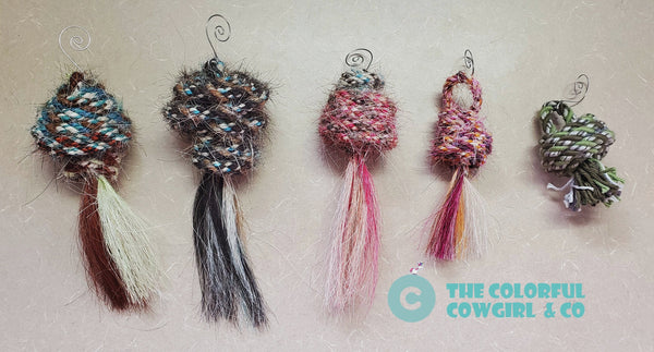 Mecate Ornaments with Tassel