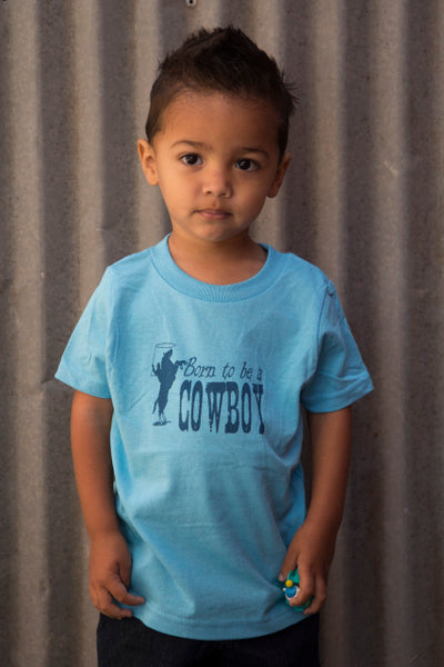 Born to be a Cowboy Toddler Tee