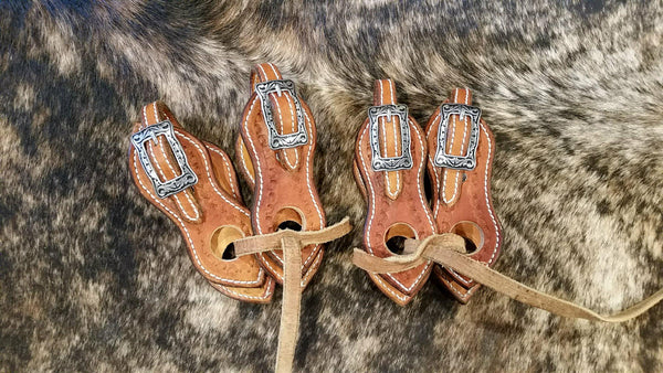"6"" Buckle on Slobber Straps"