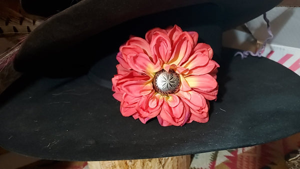 Clip on Hat Flowers