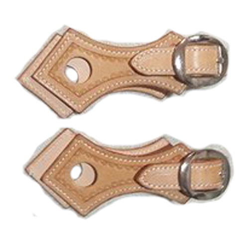 Natural Buckle on Slobber Straps